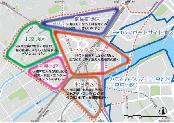 エキサイトよこはま22(横浜駅周辺大改造計画)