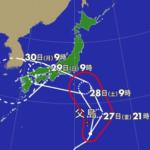 飲食店 本州直撃の大型台風に備える