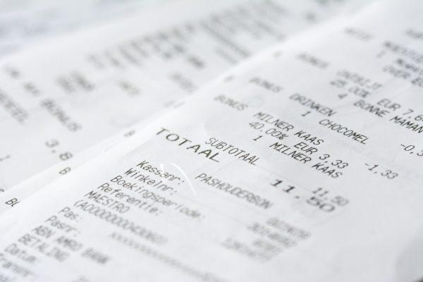 サービス料-消費税